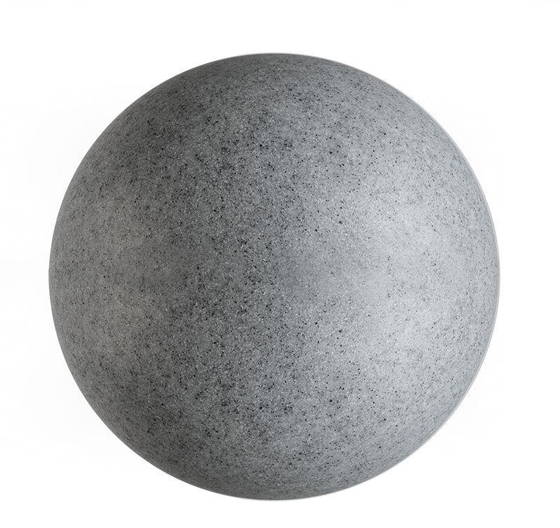 Kugelleuchte Granit 45 grau 230V AC 1x max. 42 W - Dekorative Leuchte – Bild 1