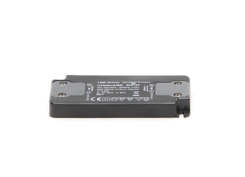 FLAT, Power Supply 500mA 6W 500 mA 2-12V DC Schwarz 230V AC 6 W - Netzgerät – Bild 2