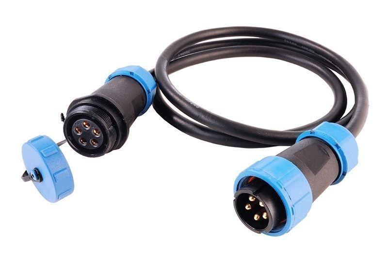 Weipu Verbindungskabel 5-polig 24V DC - Kabelsystem – Bild 1