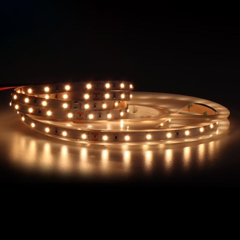24V LED Streifen 5m | 3000K  | 24W IP20 | 300 LEDs | dimmbar – Bild 1