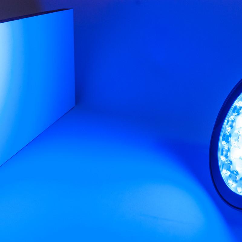 Easy Serie RGB-W+WW Gartenstrahler | 25 Watt | 4/8 Zonen | 230 V | 15° | IP65 | 2,4G – Bild 4