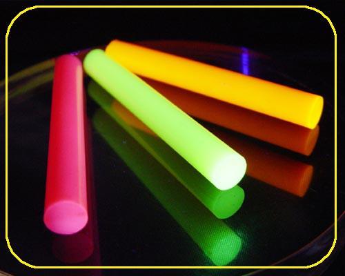pink opak Arcyl-Rundstab fluo Ø 15 mm, 2000mm