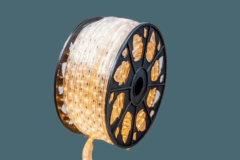 LED Lichtschlauch | 230V | 50m | 2400K | Horizontal – Bild 1