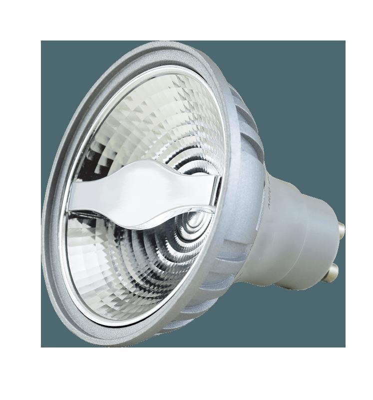 6W AR70 LED Spot GU10 dim to warm 24° 300lm – Bild 1