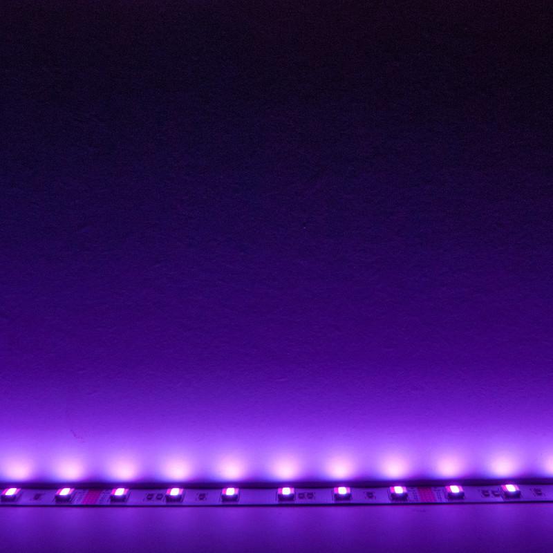 LED Streifen 10cm | 5in1 RGB-W+WW  | 24V 2,40W IP20 | dimmbar – Bild 12