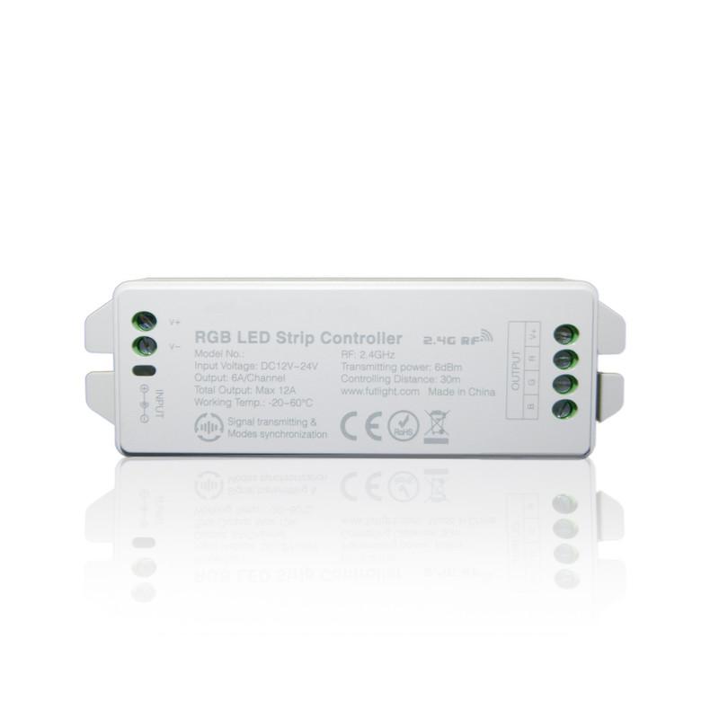 Easy Serie LED RGB Funk-Controller für  RGB LED | 4/8 Zonen | 12/24 V | 2,4 GHz – Bild 2