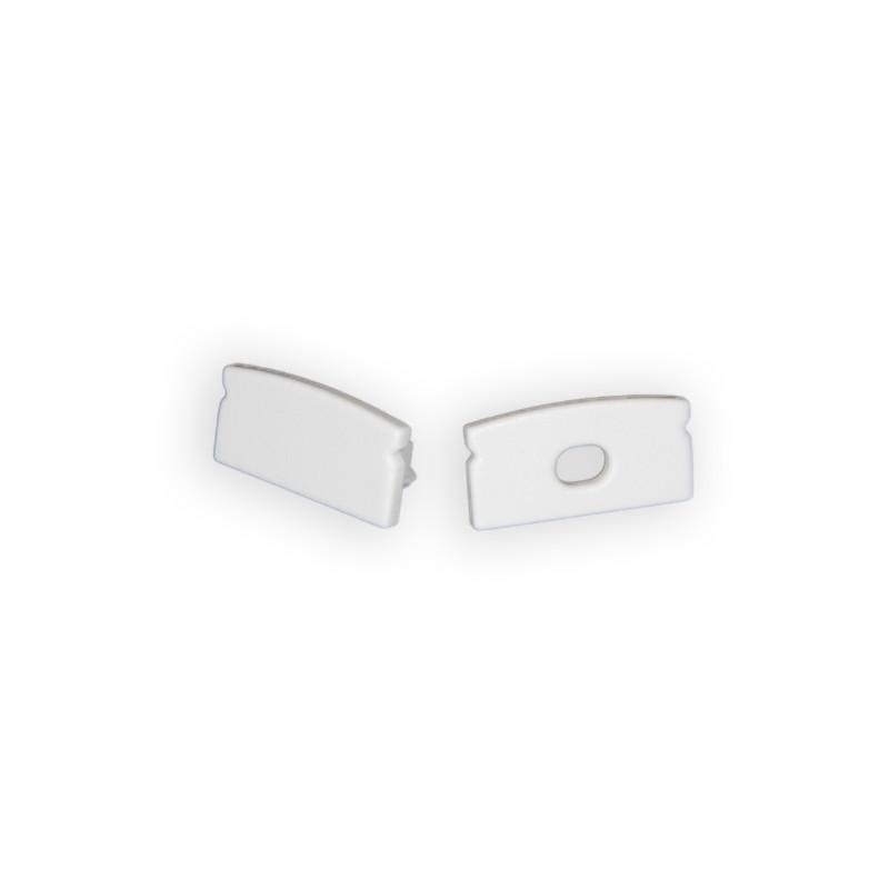 2 Endkappen für Alu U-Profil Nr. 126-225, 126-229, 126-971 – Bild 1
