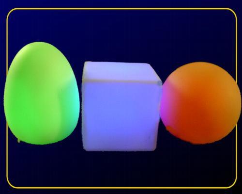 Mobo 3er Sortiment je 1 x Kugel, Ei, Würfel – Bild 2