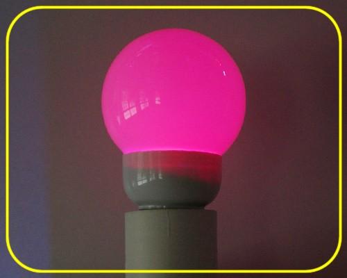 LED Birne MULTICOLOR 1W E27 RGB Farbwechsel – Bild 1