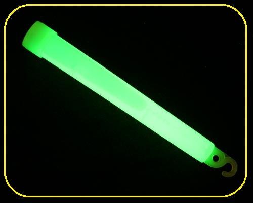 Knicklicht BIG grün 15cm mit Band, 25Stk. – Bild 2