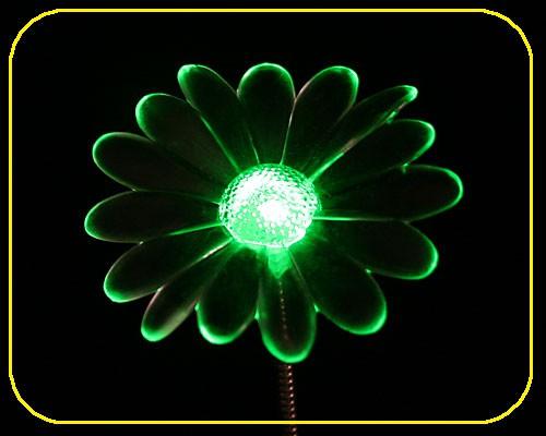 LED Little Swing Blume in grün