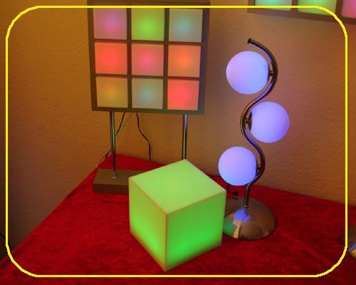 MOFI Würfel RGB 15 cm mit 24 LEDs – Bild 2