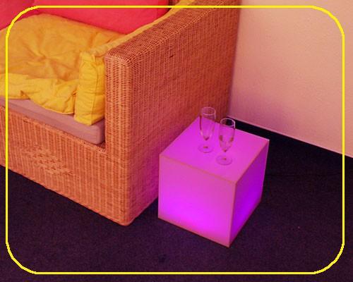 MOFI Würfel RGB 30 cm mit 48 LEDs – Bild 1