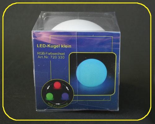 Kugel klein, on/off, RGB Farbwechsel - inkl. Batterien – Bild 4
