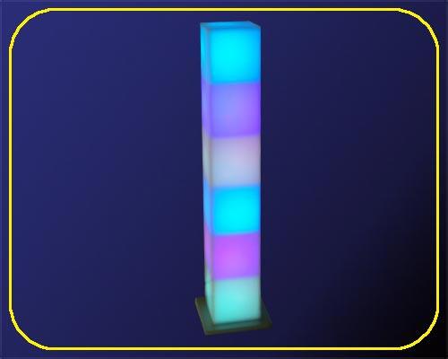 LED Leuchtturm 42 mit RGB Farbwechsel | LED Tower Klein | LED Säule