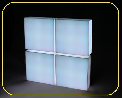 Panel-Wand-Set, 4 Stk. a 40 cm mit Fernbedienung – Bild 2