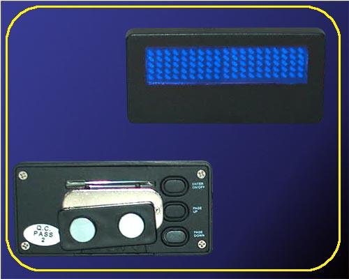 LED Namecard Klein | Namensschild Blau  | frei programmierbar  – Bild 2