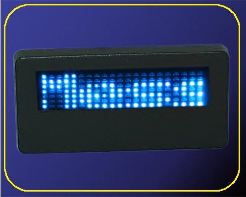 LED Namecard Klein | Namensschild Blau  | frei programmierbar  – Bild 4