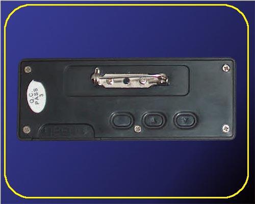 LED Namecard Medium | Namensschild Rot  | frei programmierbar  – Bild 3