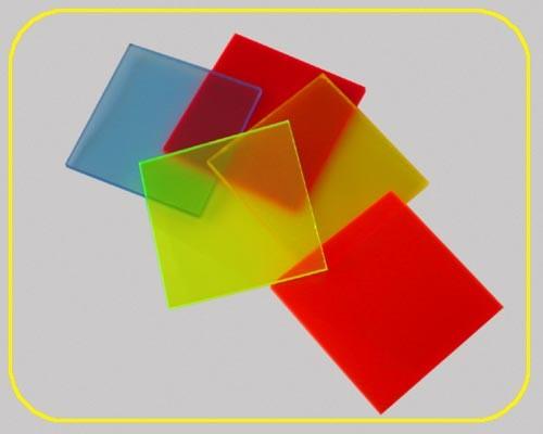 satinierte Leuchtplatte 3mm | 2030x1520 mm | gelb – Bild 1