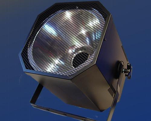 UV-Schwarzlicht Bühnen-Strahler E-40/230 V