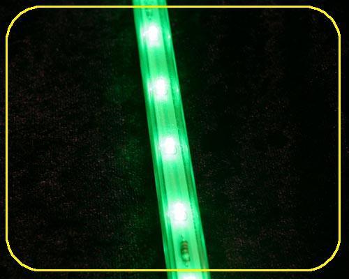 12 V LED Leiste 10x10mm 24 LEDs 61 cm grün – Bild 2