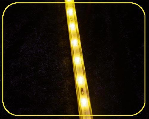 12 V LED Leiste 10x10mm 36 LEDs 91,5 cm gelb – Bild 1
