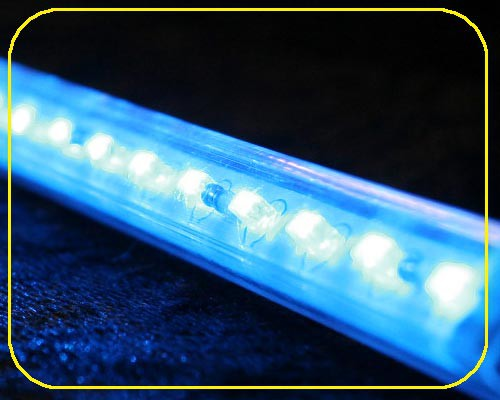 12 V LED Leiste 10x10mm 12 LEDs 30,5 cm blau – Bild 2