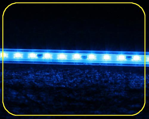 12 V LED Leiste 10x10mm 12 LEDs 30,5 cm blau – Bild 3