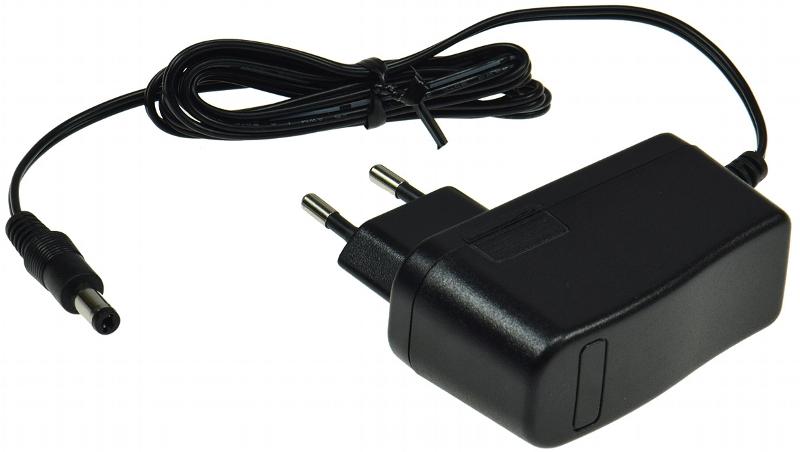 Netzsteckertrafo 12 V DC 12 Watt schwarz – Bild 1