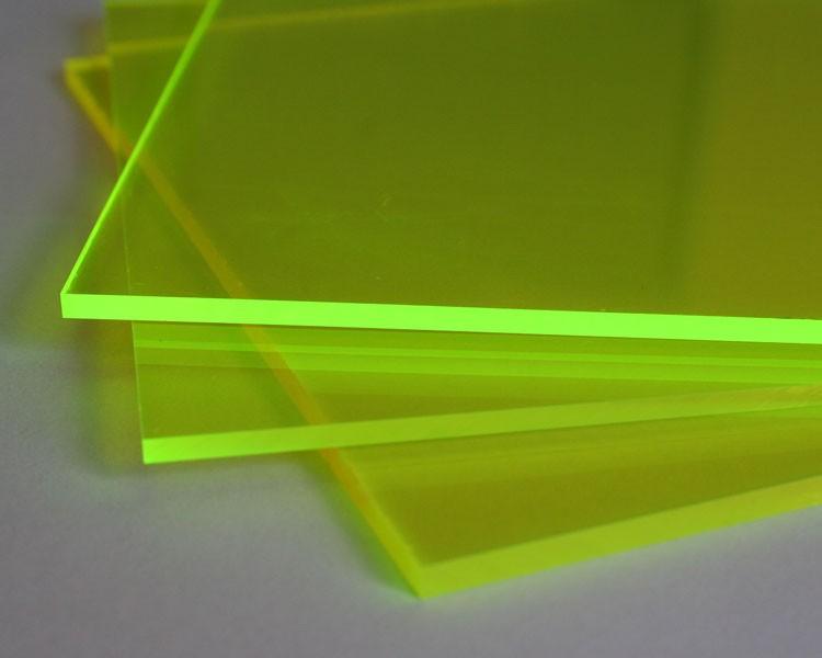 Lucy Leuchtplatte 3mm | 1520x675 mm | Grün – Bild 1