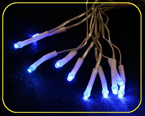 LED Strang 10 Sück batteriebetrieben Blau – Bild 1