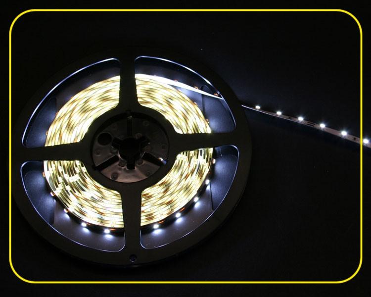 LED Streifen 5m | Kaltweiß  | 12V 24W IP20 | 300 LEDs | dimmbar – Bild 2