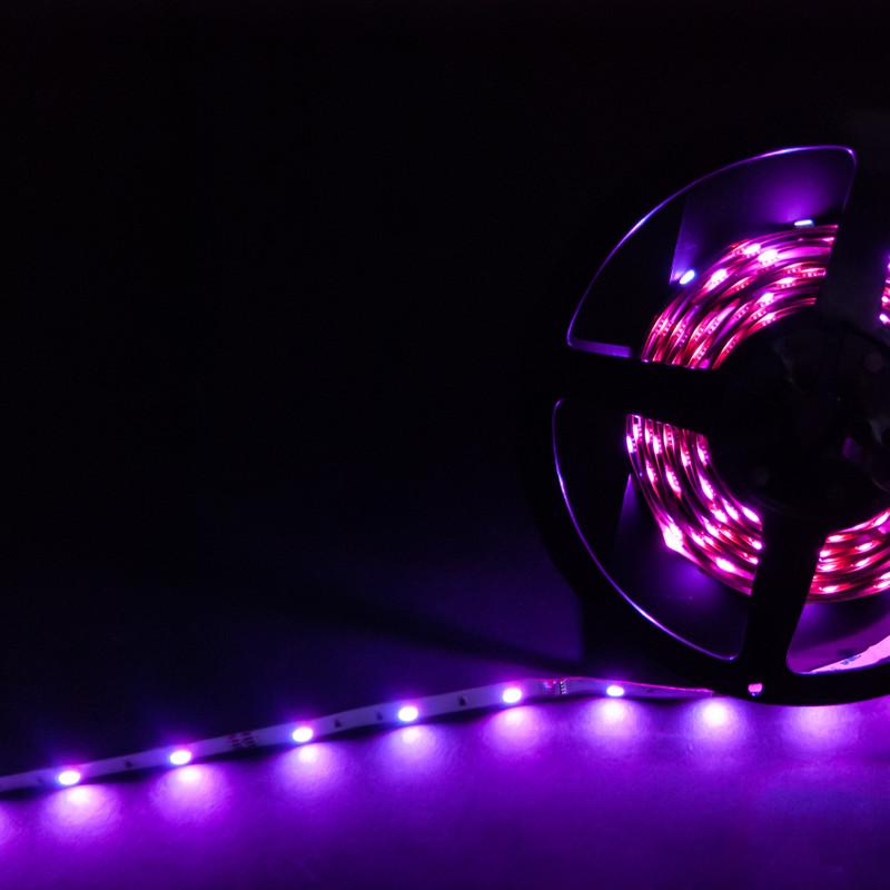 RGB Streifen 5m | 12V 36W IP20 | dimmbar – Bild 1