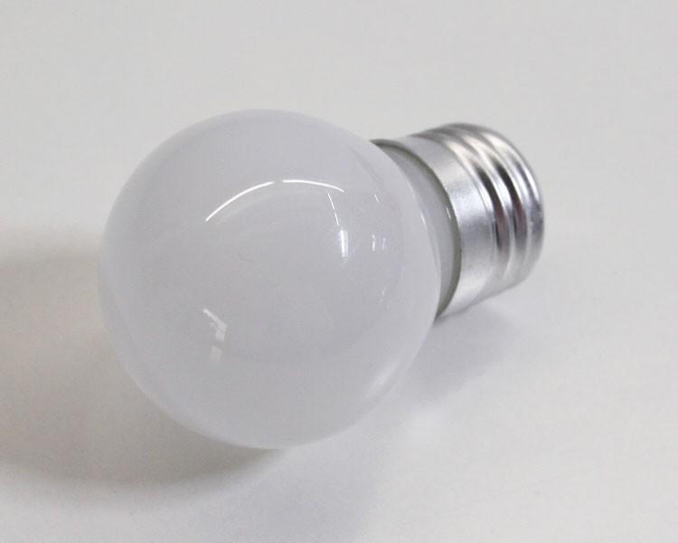 E27 LED Birne milchig 1W, 230 V weiß – Bild 2