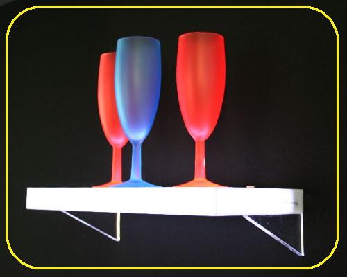 LED sideboard 30 x 15 x 2,5 cm, 12 LEDs weiß – Bild 1