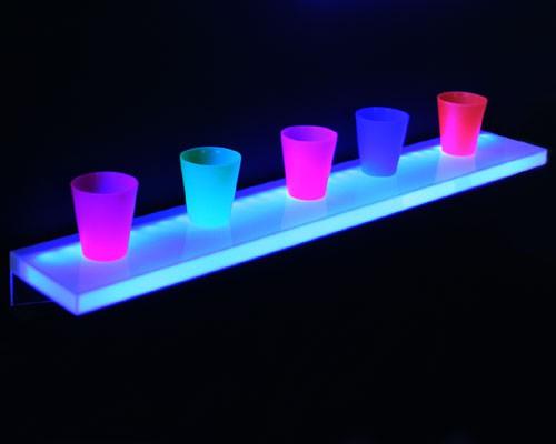 LED sideboard 90 x 15 x 2,5 cm, 30 LEDs blau – Bild 1