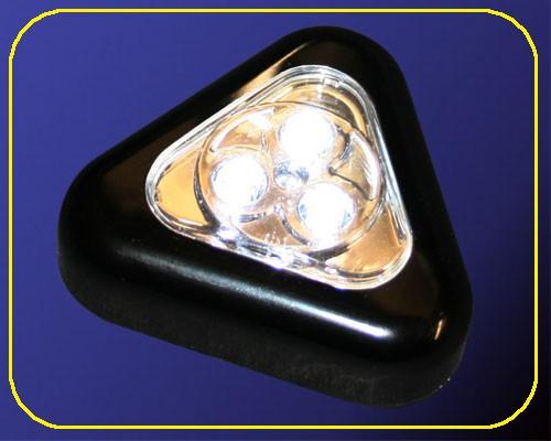 LED Multifunktionsleuchte Triangle Schwarz – Bild 1