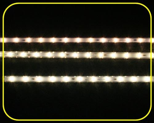 12 V LED Leiste 10x10mm 12 LEDs 30,5 cm warmweiß