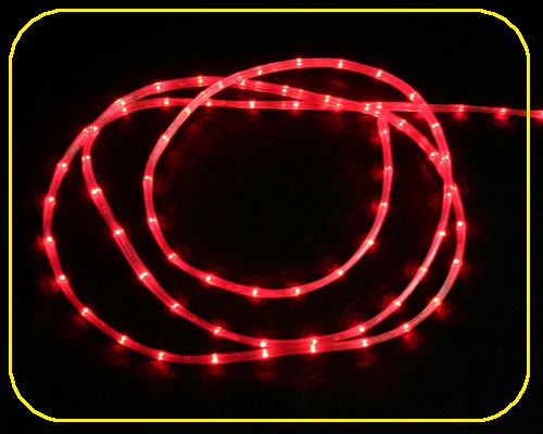10m LED 12 V Slim Line 3,5 x 5,5 mm rot – Bild 1