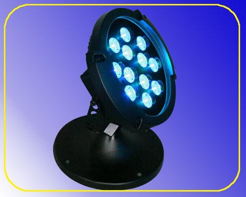 LED Rundstrahler 12 RGB LEDs 24 V 3 W IP65 – Bild 1
