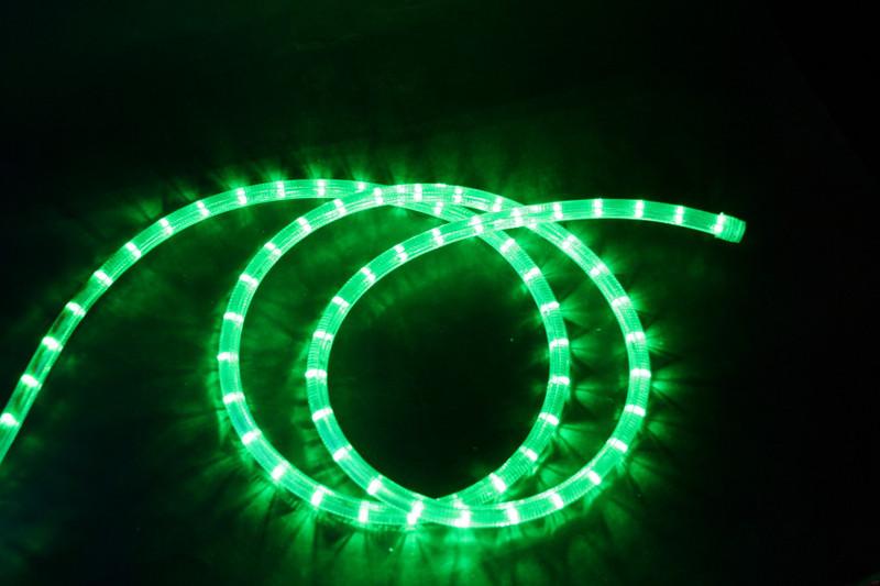 230V | LED Lichtschlauch Premium Grün | 150cm Abschnitt | Dimmbar IP44 – Bild 1