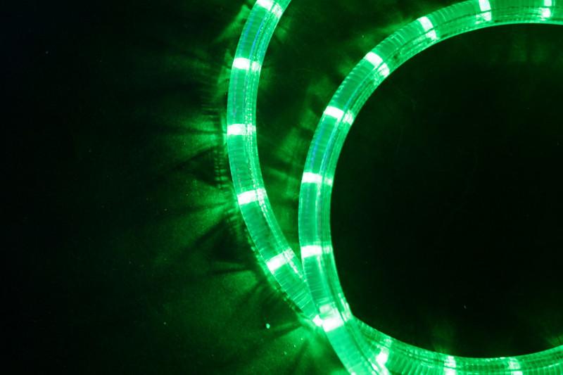 230V | LED Lichtschlauch Premium Grün | 150cm Abschnitt | Dimmbar IP44 – Bild 3
