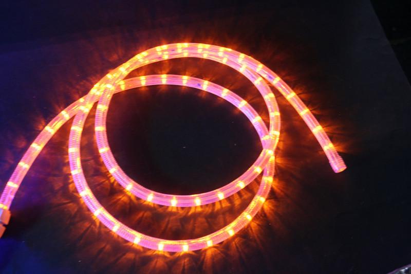 230V | LED Lichtschlauch Premium Gelb | 200cm Abschnitt | Dimmbar IP44 – Bild 1