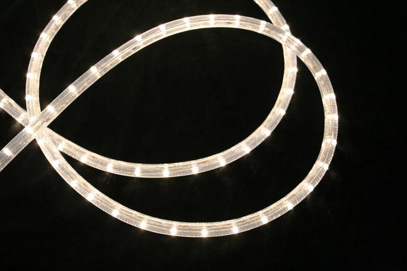230V | LED Lichtschlauch Premium Warmweiß | 150cm Abschnitt | Dimmbar IP44 – Bild 1