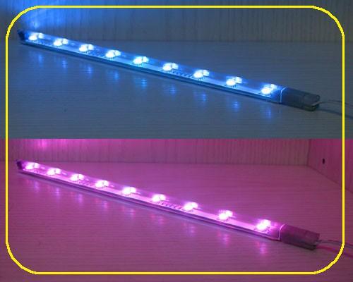 RGB LED Leiste 10x7 mm 12 V 12 LEDs 40 cm – Bild 1