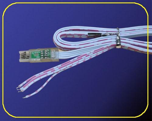 Anschlusskabel 50 cm für RGB LED Leisten 12 V – Bild 1