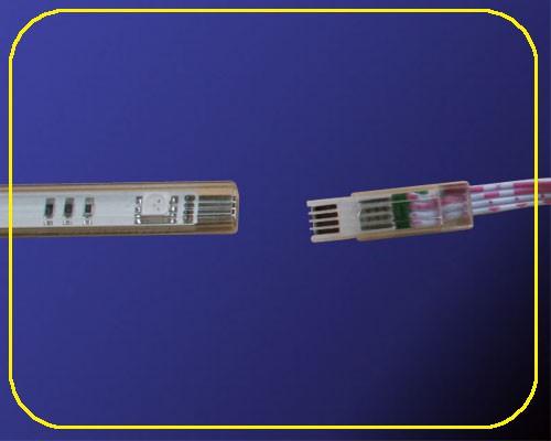 Anschlusskabel 50 cm für RGB LED Leisten 12 V  – Bild 2