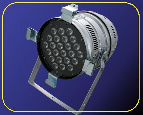 LED PAR64-Strahler chrom 24 W 230 V IP20 – Bild 4