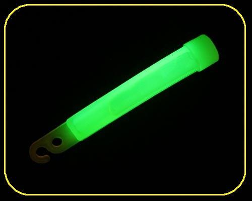 4 Zoll GlowSticks Ø 12 mm, 10 cm lang, grün – Bild 3